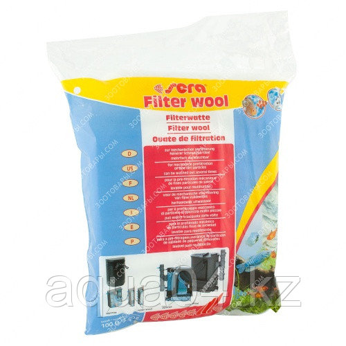 SERA Filter wool фильтрующая вата 100гр.
