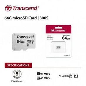 MicroSD Transcend 64GB, фото 2