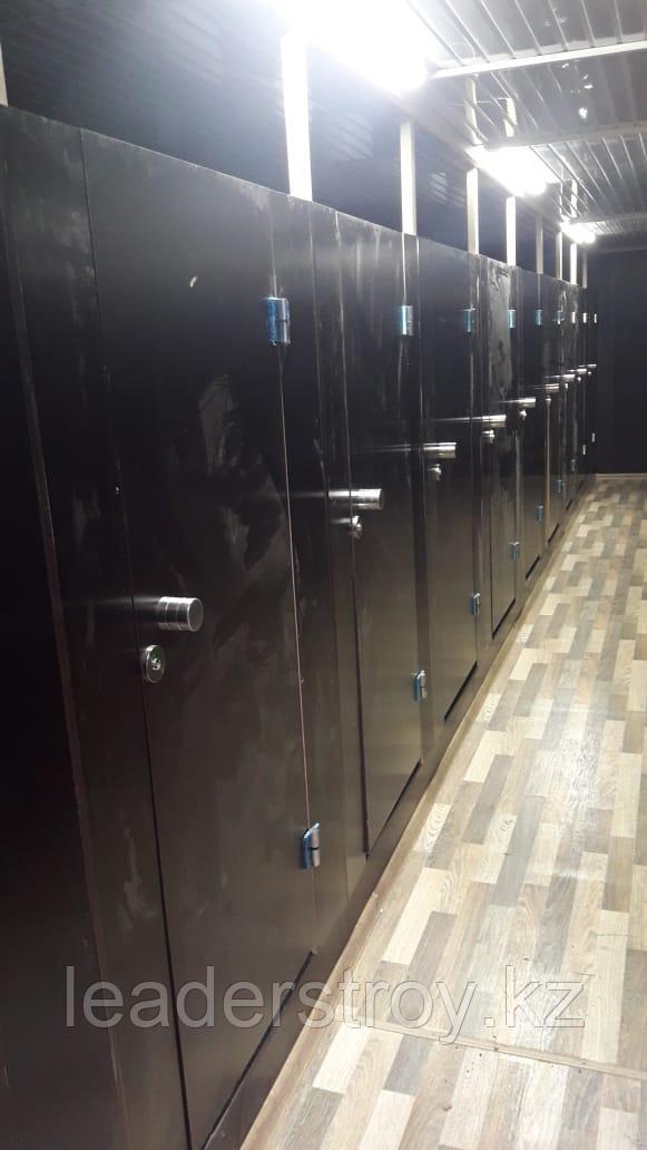 Утепленный контейнер под туалет 40ф
