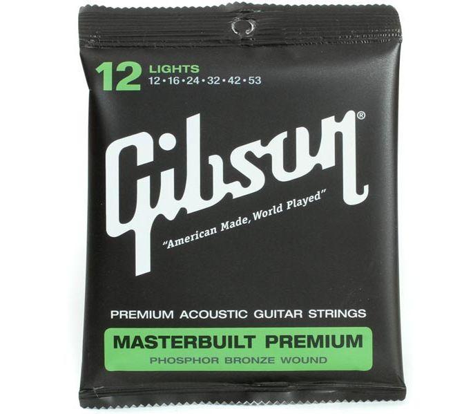 Струны для акустической гитары Gibson SAG-MB12