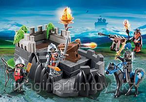 Детский Конструктор PLAYMOBIL «Крепость рыцарей Дракона» 6627
