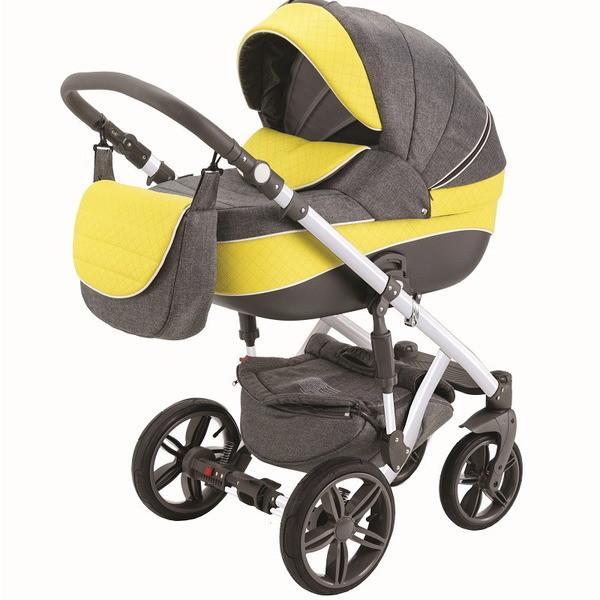 Детская коляска Adamex 3 в 1 ENCORE X14B