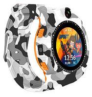Смарт часы Aimoto Sport бело-серый камуфляж