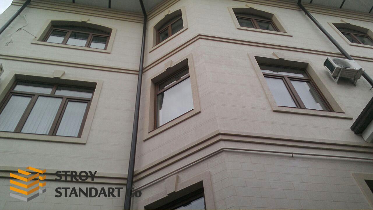 Фасадные облицовочные панели для утепления
