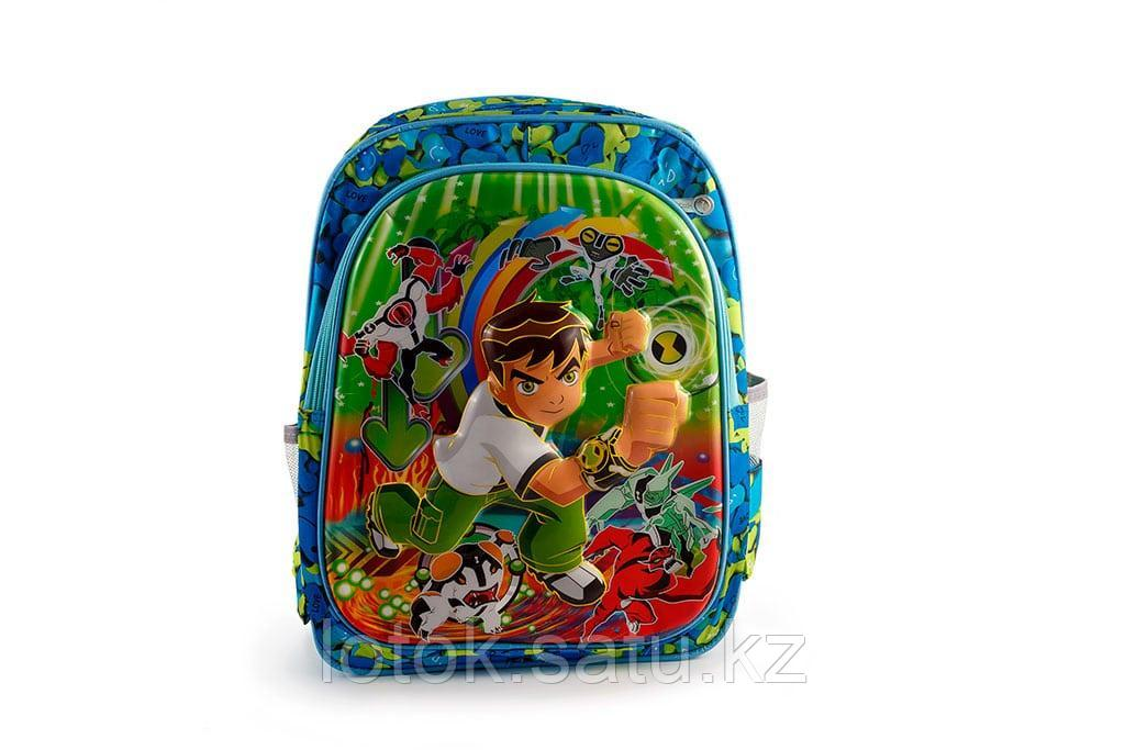 """Детский рюкзак с 3D рисунком """" Герои мультфильмов"""" - фото 1"""