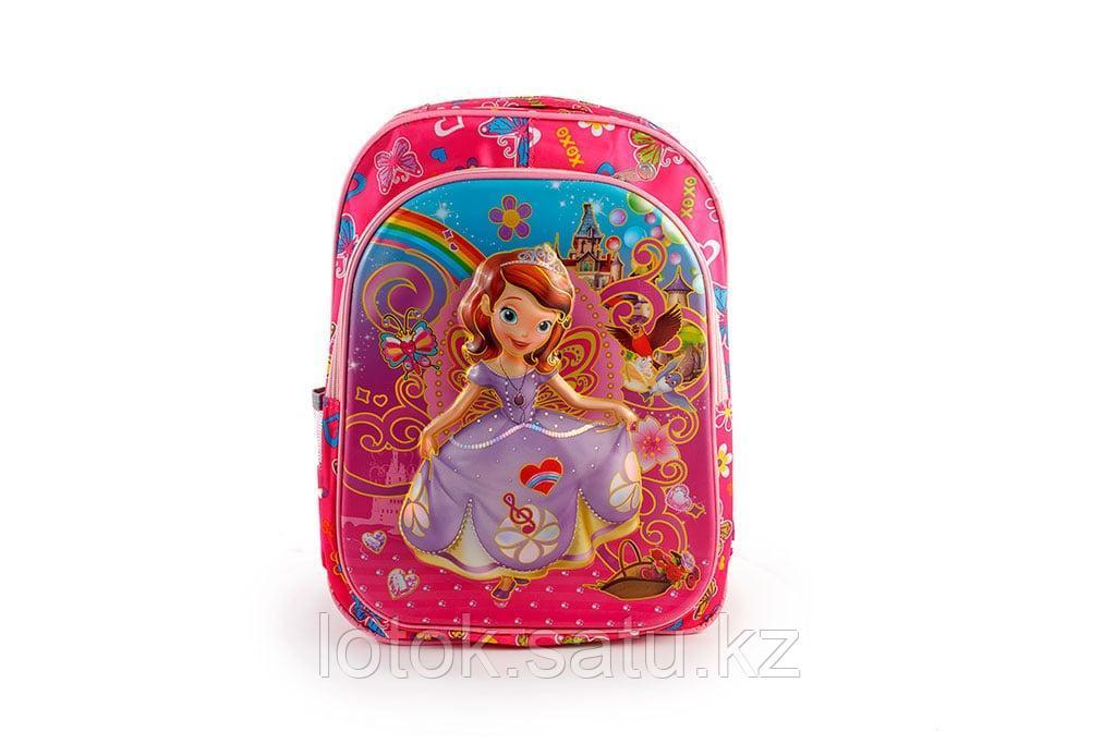 """Детский рюкзак с 3D рисунком """" Герои мультфильмов"""" - фото 3"""