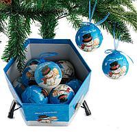 """Новогодние шары в подарочной коробке """"Обнимашки"""""""