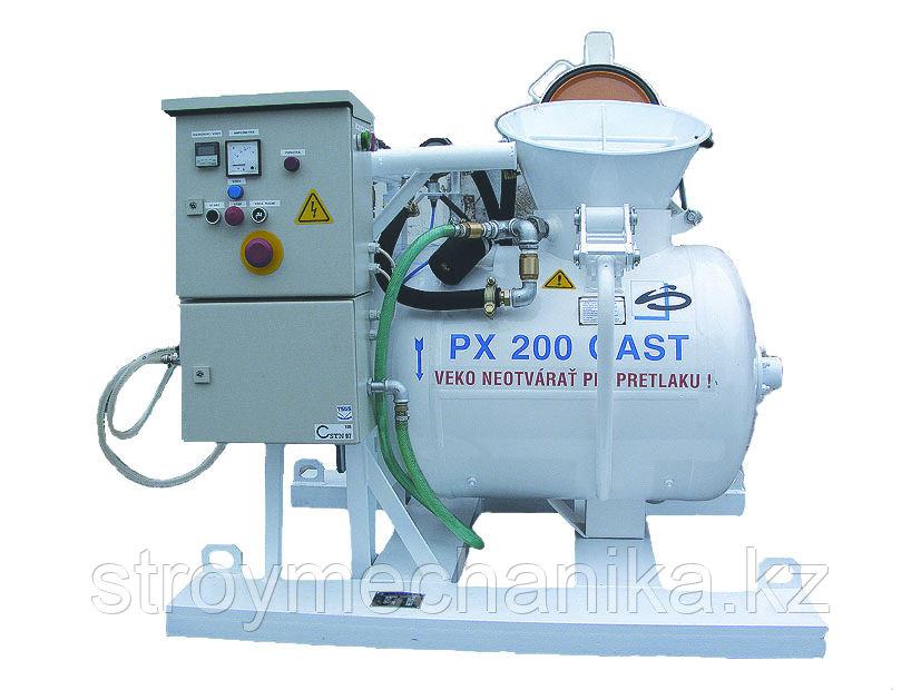 PNEUMIX PX 200 cast Пневматический бетононасос для огнеупорных смесей