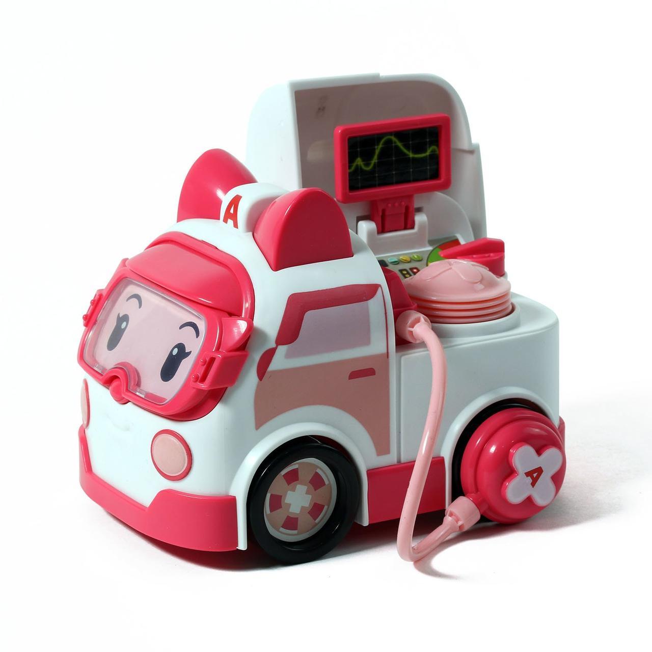 Robocar Poli Машинка Эмбер с акссесуаром