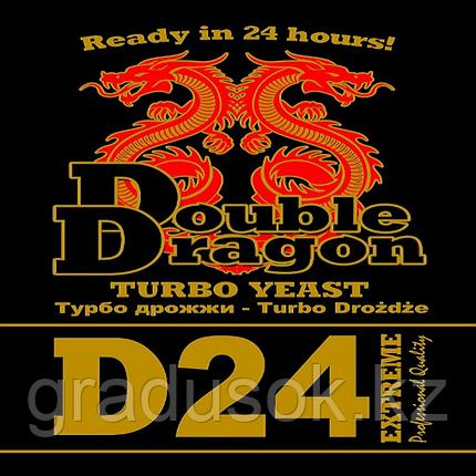 Дрожжи спиртовые Double Dragon D 24, фото 2