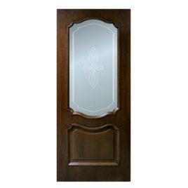 Межкомнатные шпонированные двери Каролина-орех