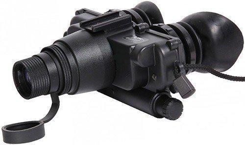 """Очки ночного видения """"Dedal DVS-8-A"""" имеют большие наглазники из мягкого эластичного материала (нажмите, чтобы увеличить)"""
