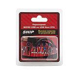 SHIP US109-0.15B Переходник MICRO USB на USB Host OTG, Блистер, 0.15м, Чёрный, фото 3