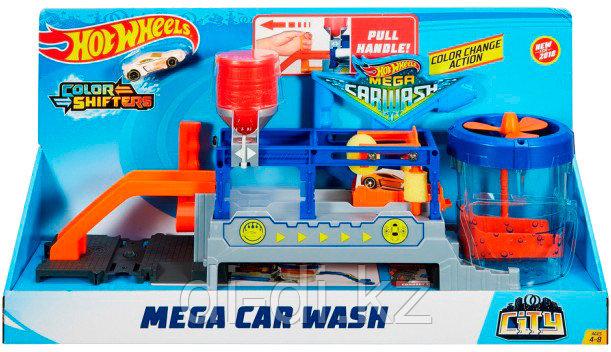Игровой набор Hot Wheels Измени цвет Бешеная автомойка
