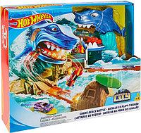 Игровой набор Hot Wheels Город: Схватка с акулой