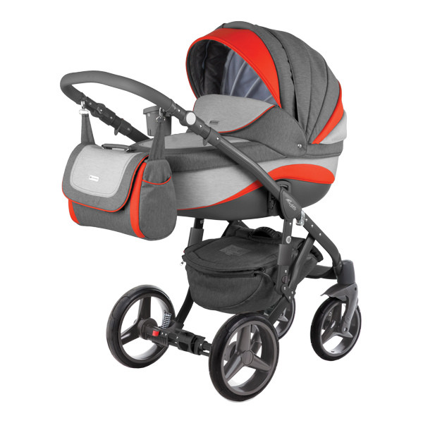 Детская коляска Adamex 3 в 1 Barletta New B3