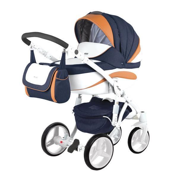 Детская коляска Adamex 3 в 1 Barletta New B7