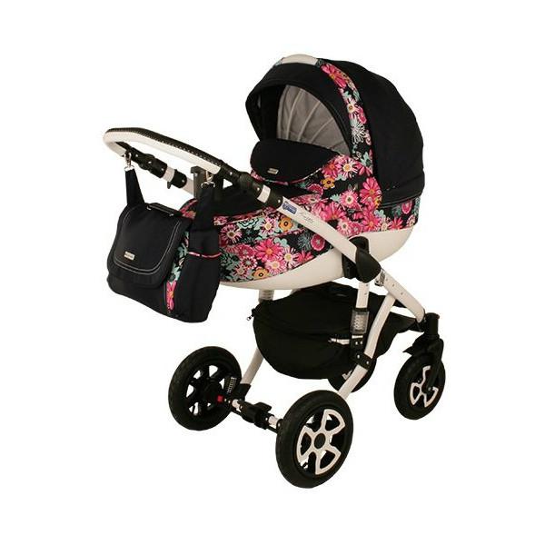 Детская коляска Adamex 3 в 1 Barletta 565G