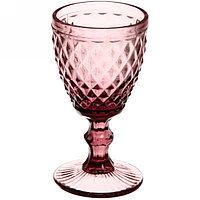 Набор фужеров для напитков из цветного стекла 250 мл (6 штук)