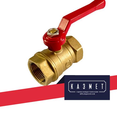 Кран бронзовый шаровой Heimeier Globo H Ду 25 Ру 10 ВР-ВР, с ручкой