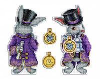 """Набор для вышивания крестом """"Чудесный кролик"""""""