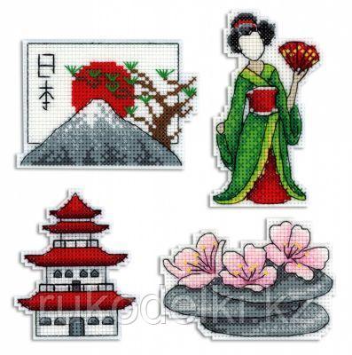 """Набор для вышивания крестом """"Япония. Магниты"""""""