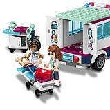 Конструктор Bela Аналог LEGO Friends 41318 LELE 37036 Клиника Хартлейк-Сити 37036 (932 дет), фото 4