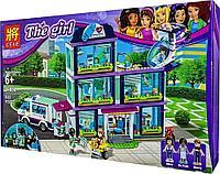 Конструктор Bela Аналог LEGO Friends 41318 LELE 37036 Клиника Хартлейк-Сити 37036 (932 дет)