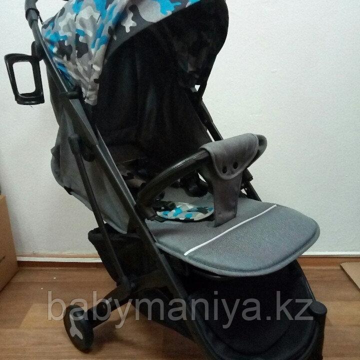 Прогулочная коляска Mstar (Baby Grace) Серый Камуфляж