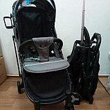 Прогулочная коляска Mstar (Baby Grace) Серый Камуфляж, фото 2