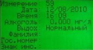 Информативный ЖК-дисплей устройства отображает подробную информацию о каждом измерении