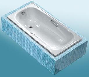 Стальные ванны WHITE WAVE (Караганда)