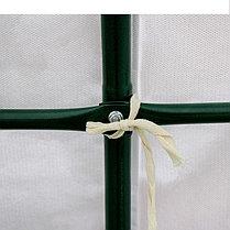 Теплица-парник «Весна XL», 3,7 × 2,15 × 1,95 м, металл, спанбонд 90 г/м², фото 2