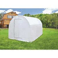 Теплица-парник «Весна XL», 3,7 × 2,15 × 1,95 м, металл, спанбонд 90 г/м²