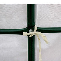 Теплица-парник «Весна XL», 6,1 × 2,15 × 1,95 м, металл, спанбонд 90 г/м², фото 2