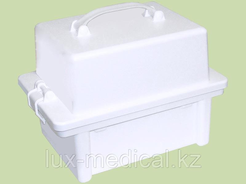 УКТП-01 вар. 1 — контейнер для пробирок и подставкой д/инструментов