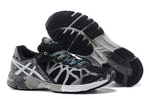Кросовки Asics Gel-Noosa  9 Generation черно-белые, фото 2