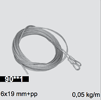 Готовая тросовая пара D=3mm; L=3000 mm