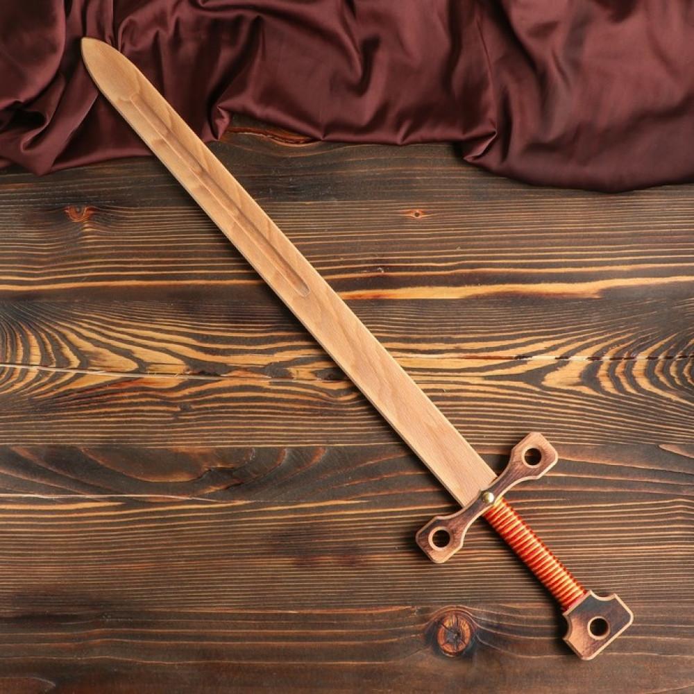 """Деревянный меч """"Двуручный"""", 75 см."""