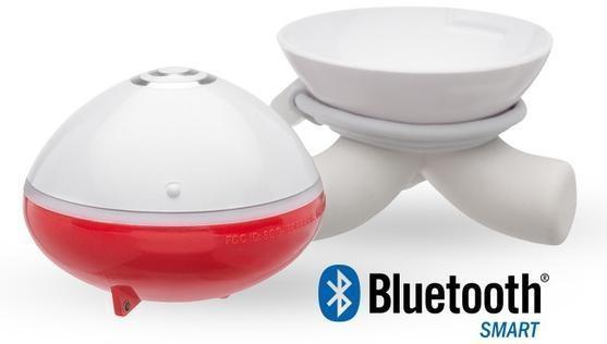 Эхолот будет использовать протокол Bluetooth для беспроводной коммуникации с вашим мобильным устройством
