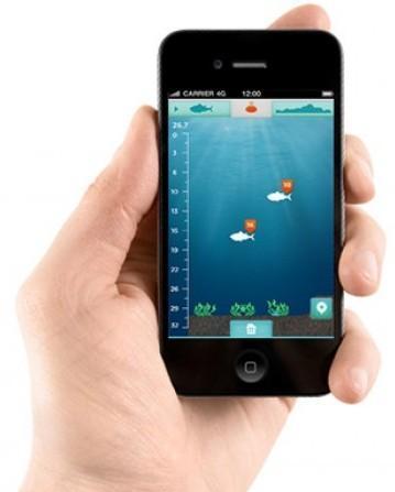 Отслеживайте глубину, на которой проплывают рыбы, с помощью собственного смартфона