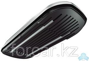 АВТОМОБИЛЬНЫЙ БОКС MAGNUM 390 (черный,тиснение «карбон») (1850х840х420) быстросъем, фото 3