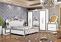 Спальный гарнитур Альба 6Д