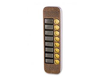 Вызывная панель видеодомофона JSB-V088K на 8 абонентов с встроенным контроллером и открытием по коду