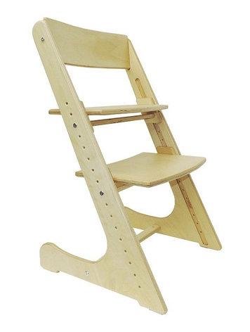 Детский растущий (регулируемый) стул. Ортопедический стул. (без покрытия), фото 2