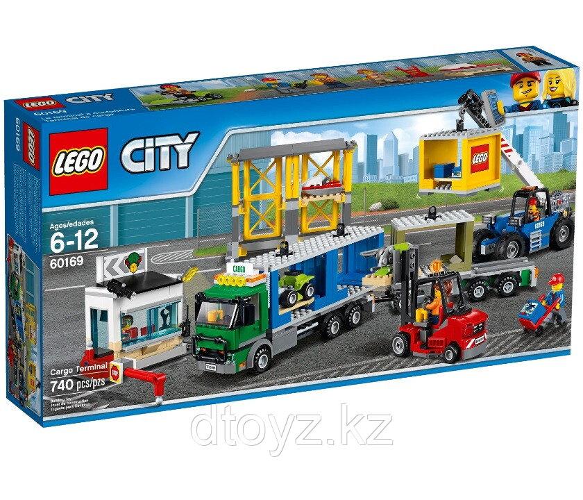 Lego City 60169 Грузовой терминал Лего Сити