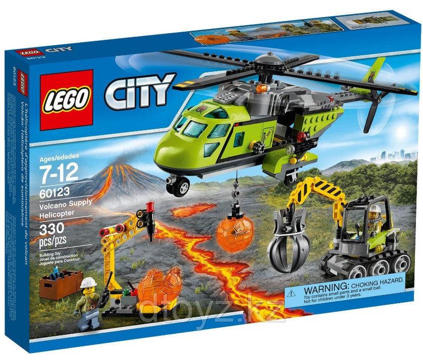 Lego City 60123 Грузовой вертолет исследователей вулканов Лего Сити