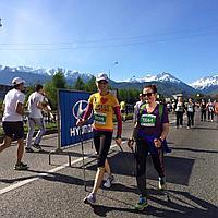 Скандинавская ходьба на Алматы марафон 2019