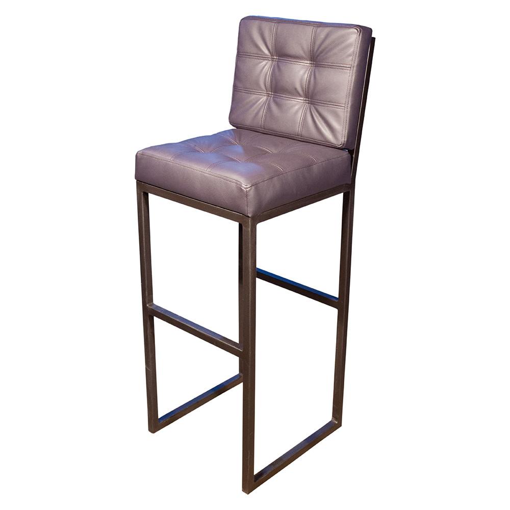 Барный стул с мягким сиденьем