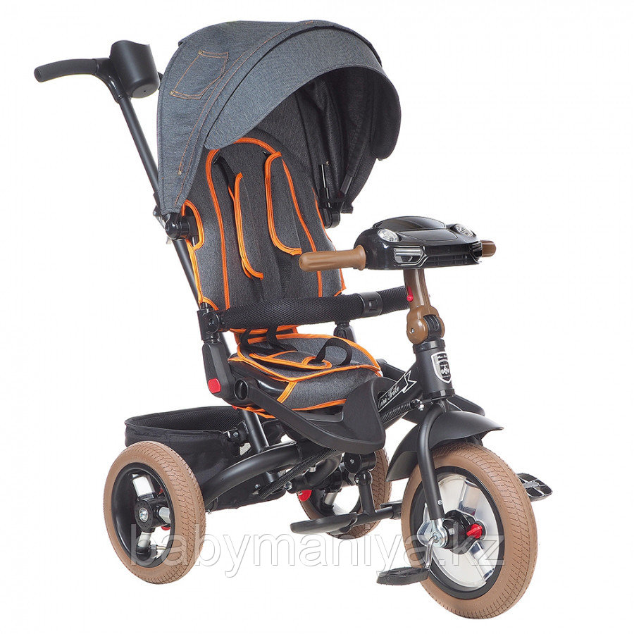 Трехколесный велосипед Mini Trike  T400 Черный Black JEANS